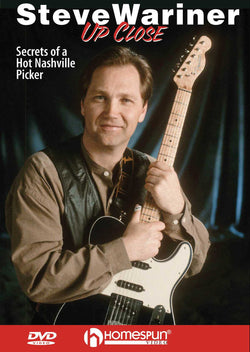DVD - Steve Wariner Up Close - Secrets of a Hot Nashville Picker