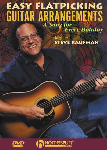 DVD - Easy Flatpicking Guitar Arrangements-A Song for Every Holiday