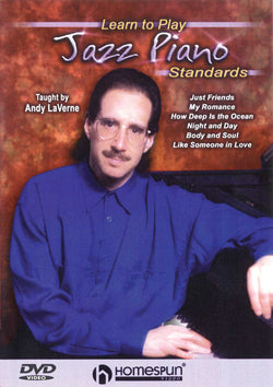 DVD - Learn to Play Jazz Piano Standards