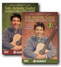 DIGITAL DOWNLOAD ONLY - Arrangements for Solo Acoustic Guitar: Two DVD Set