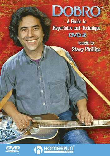 DVD-A Guide to Dobro Repertoire and Technique: Vol. 2 - Bar Slants and String Pulls