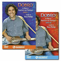 DVD-A Guide to Dobro Repertoire and Technique: Two DVD Set