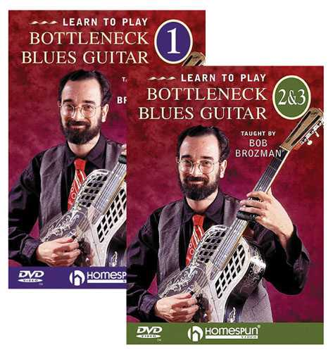 DVD - Learn to Play Bottleneck Blues Guitar: Three DVD Set