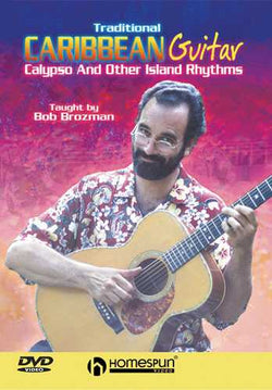 DVD - Traditional Caribbean Guitar - Calypso and Other Island Rhythms