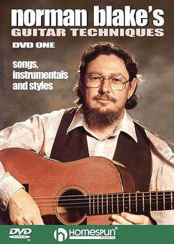DVD - Norman Blake's Guitar Techniques: Vol. 1 - Songs, Instrumentals & Styles