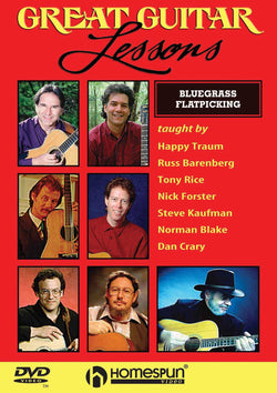 DVD - Great Guitar Lessons: Bluegrass Flatpicking