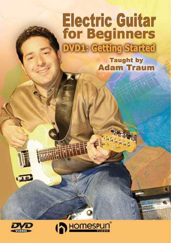 DVD - Electric Guitar for Beginners: Vol. 1 - Getting Started