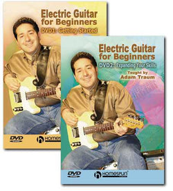 DVD - Electric Guitar for Beginners: Two DVD Set
