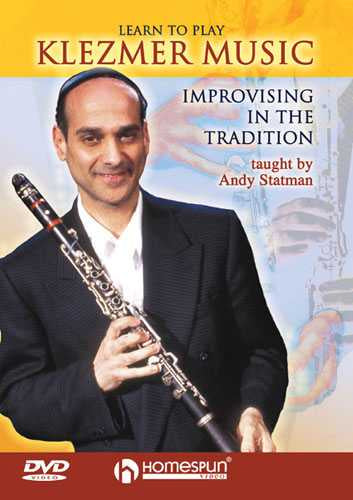 DVD - Learn to Play Klezmer Music - Improvising in the Tradition