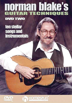 DVD - Norman Blake's Guitar Techniques: Vol. 2 - Ten Stellar Songs and Instrumentals