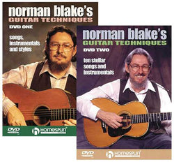 DIGITAL DOWNLOAD - Norman Blake's Guitar Techniques: Two DVD Set