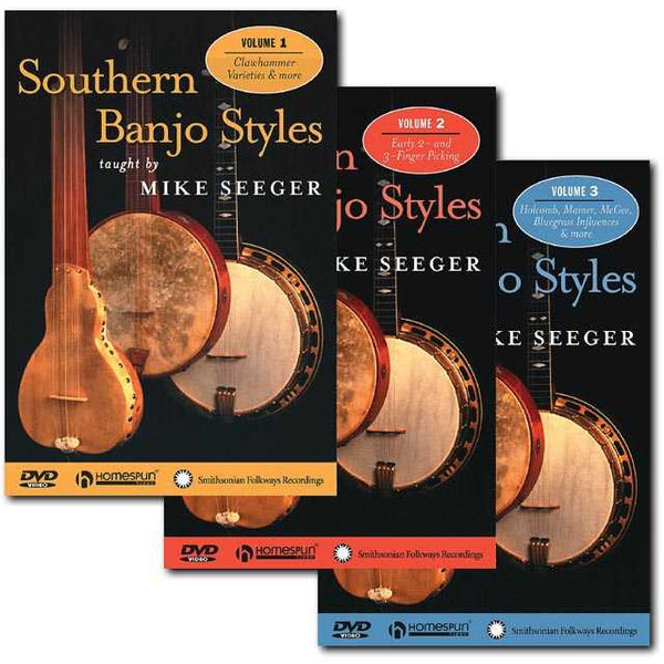 DVD - Southern Banjo Styles: Three DVD Set
