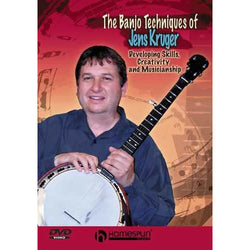 DIGITAL DOWNLOAD ONLY - The Banjo Techniques of Jens Kruger - Developing Skills, Creativity and Musicianship