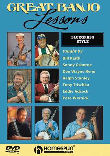 DVD - Great Banjo Lessons: Bluegrass Style