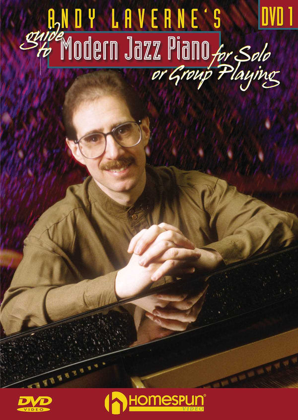 DVD - Andy Laverne's Guide to Modern Jazz Piano for Solo or Group Playing: Vol. 1