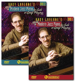 DVD - Andy Laverne's Guide to Modern Jazz Piano for Solo or Group Playing: Two DVD Set