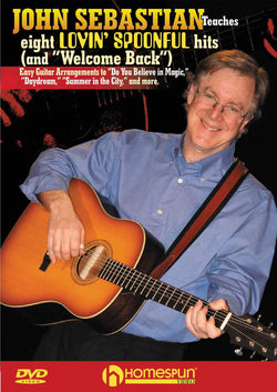 "DVD - John Sebastian Teaches Eight Lovin' Spoonful Hits (and ""Welcome Back"")"