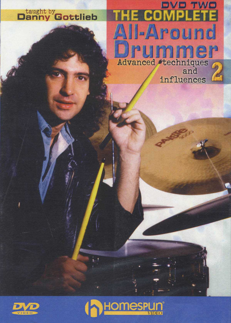 DVD-The Complete All-Around Drummer: Vol. 2