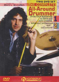 DVD-The Complete All-Around Drummer: Two DVD Set
