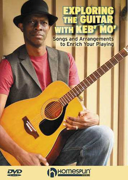DVD - Exploring the Guitar with Keb' Mo' - Songs and Arrangements to Enrich Your Playing