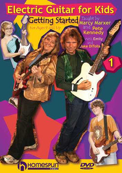 DVD - Electric Guitar for Kids: Vol. 1 - Getting Started for Ages 9 and Up
