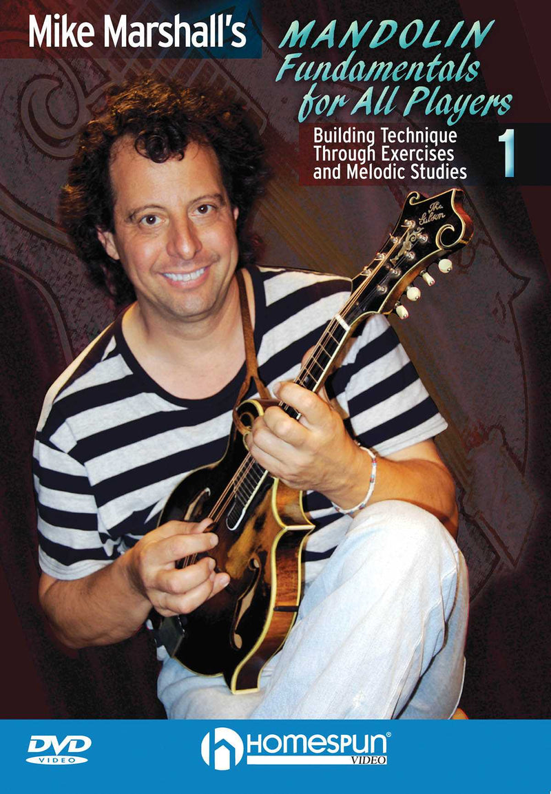 DVD - Mike Marshall's Mandolin Fundamentals for All Players - Vol. 1: Building Technique