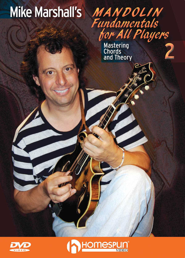 DVD - Mike Marshall's Mandolin Fundamentals for All Players - Vol. 2: Mastering Chords and Theory
