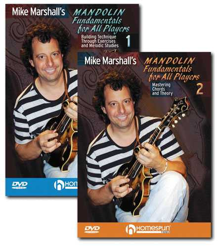 DVD - Mike Marshall's Mandolin Fundamentals for All Players: Two DVD Set