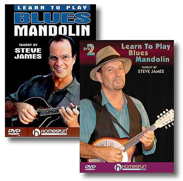 DVD - Learn to Play Blues Mandolin: Two DVD Set