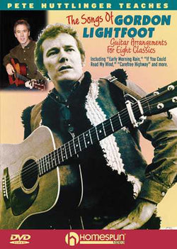 DVD - Learn to Play the Songs of Gordon Lightfoot