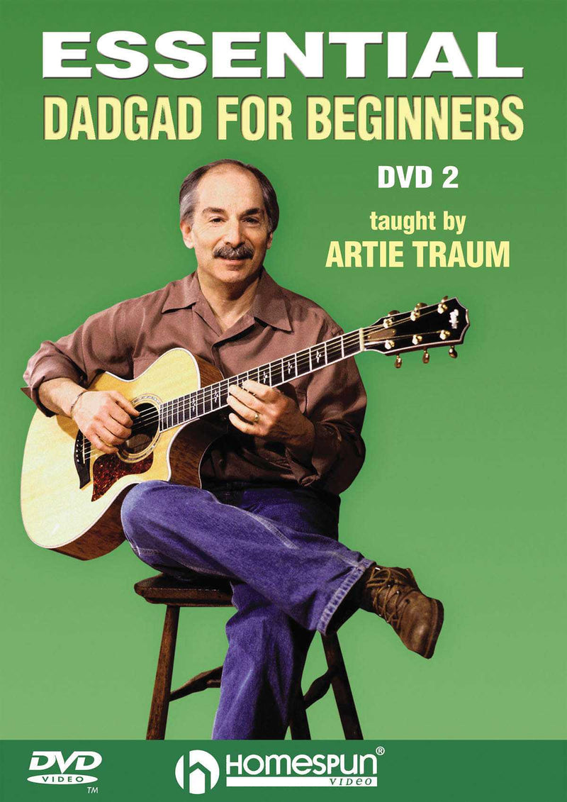 DVD - Essential DADGAD for Beginners: Vol. 2 - Arrangements for Mountain Ballads and Blues