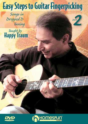 DVD - Easy Steps to Guitar Fingerpicking: Vol. 2 - Songs in Dropped D Tuning