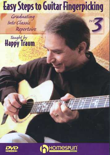 DVD - Easy Steps to Guitar Fingerpicking: Vol. 3 - Graduating Into Classic Repertoire