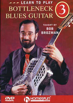 DVD - Learn to Play Bottleneck Blues Guitar: Vol. 3 - Repertoire