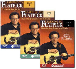 DVD - Learning to Flatpick-A Complete Course, From Bluegrass Basics to Advanced Techniques