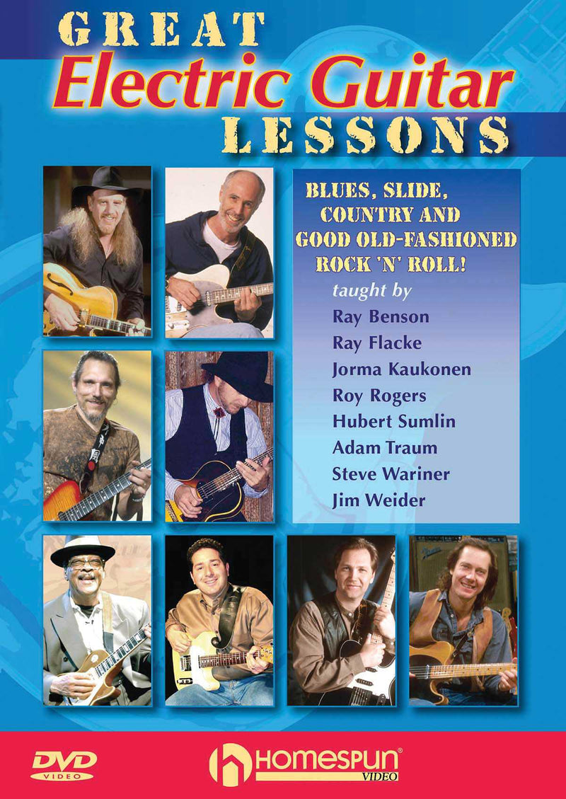 DVD - Great Electric Guitar Lessons