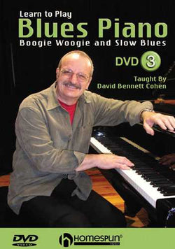 DVD - Learn to Play Blues Piano: Vol. 3 - Boogie Woogie and Slow Blues
