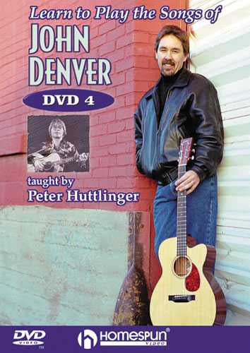 DVD - Learn to Play the Songs of John Denver: Vol. 4