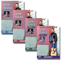 DVD - Learn to Play the Songs of John Denver: Four DVD Set