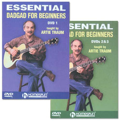 DVD - Essential DADGAD for Beginners: Three DVD Set
