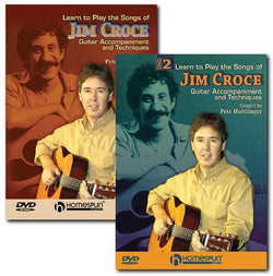 DVD - Learn to Play the Songs of Jim Croce: Two DVD Set
