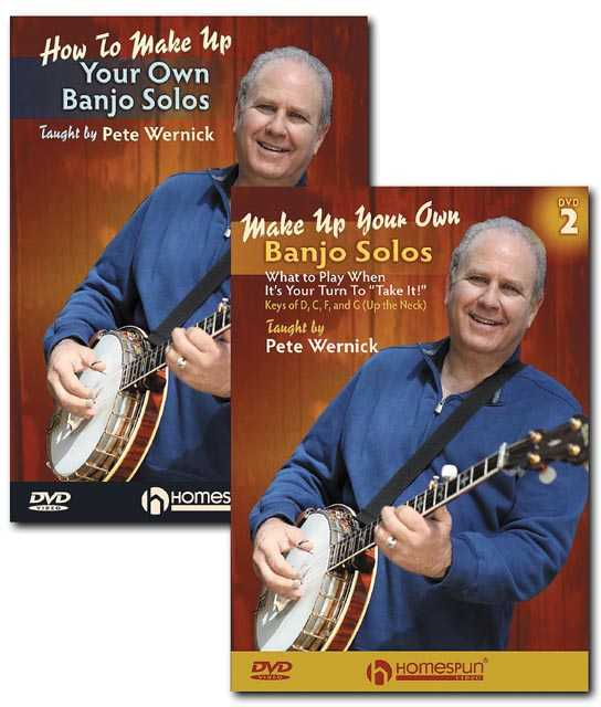 DVD - Make Up Your Own Banjo Solos : Two DVD Set