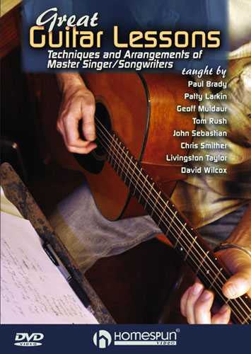 DVD - Great Guitar Lessons - Techniques and Arrangements of Master Singer/Songwriters