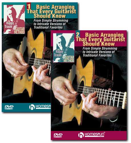 DVD-The Happy Traum Guitar Method: Basic Arranging That Every Guitarist Should Know - Two DVD Set