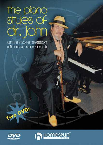 DVD-The Piano Styles of Dr.John-An Intimate Session with Mac Rebennack