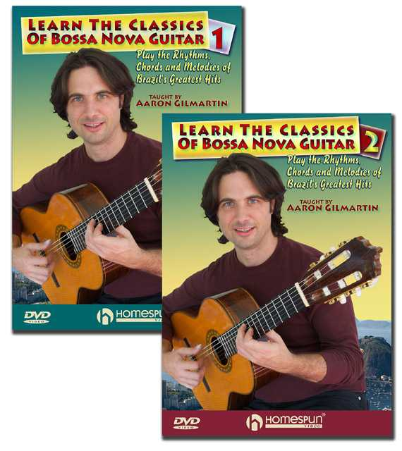 DVD - Learn the Classics of Bossa Nova Guitar - Two DVD Set