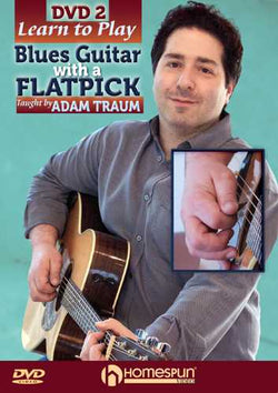 DVD - Learn to Play Blues Guitar with a Flatpick, Vol. 2