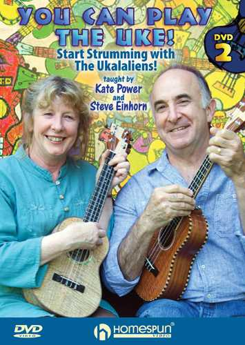 DVD - You Can Play the Uke! - DVD 2: Learn, Play and Sing Along with the Ukalaliens!