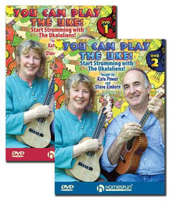 DVD - You Can Play the Uke! - Two DVD Set