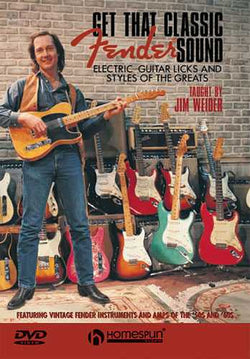 DVD - Get That Classic Fender Sound: Electric Guitar Licks & Styles of the Greats